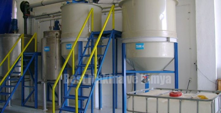 Plastic and Polyethylene Mixture Machine