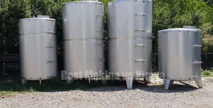 Stock and Raw Material Tank